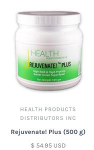Rejuvenate Plus, from the Health Ranger store