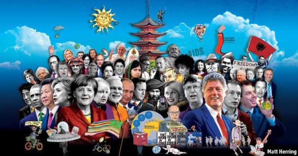 Full image Economist the world in 2016