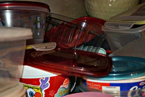 plastic containers no lids 5-25